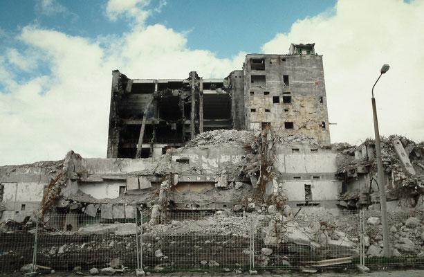 Abriss der Filmfabrik Wolfen, Deutschland