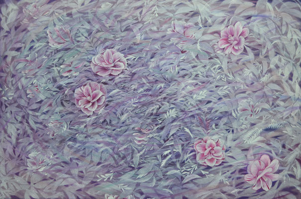 camellia-1/606×910㎜/M30/oil painting on canvas/2015