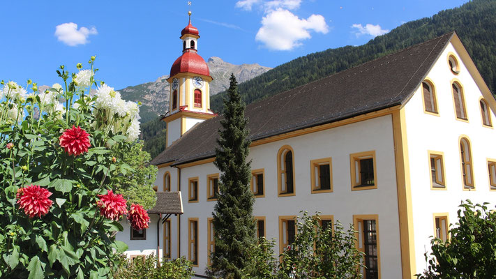Die Pfarrkirche in Neustift