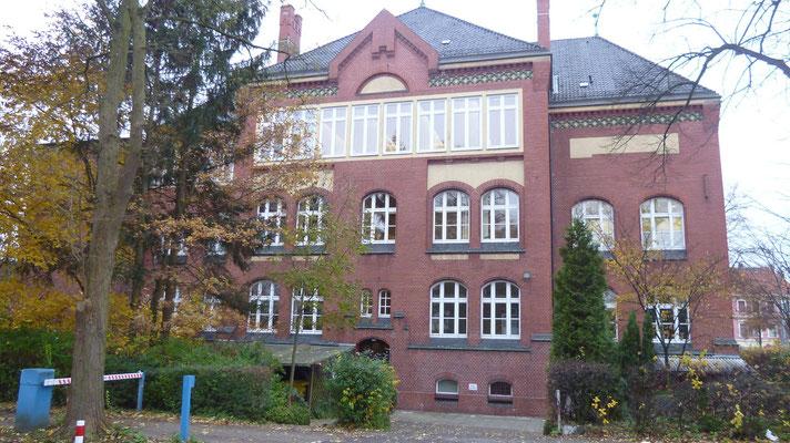 Rückseite des Seminargebäudes