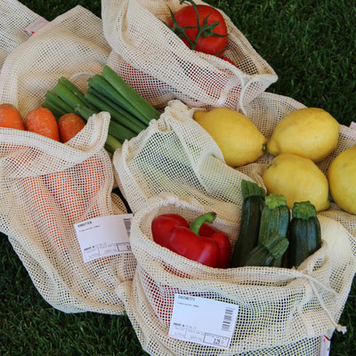 Gemüse- und Früchte-Netz