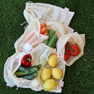 Früchte- und Gemüsenetz