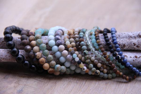 Diverse Edelstein Armbänder