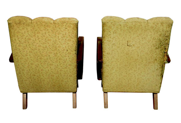 art deco armchairs - poltrone art deco