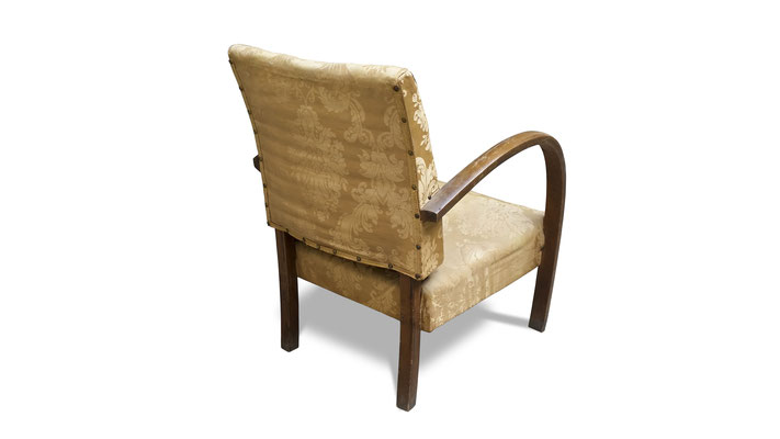 poltroncina vintage chair art deco