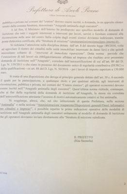 Ordinanza Prefettizia pag.2.