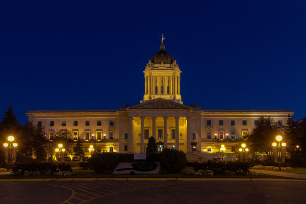 Manitoba Legislative Building, Winnipeg, Alberta.