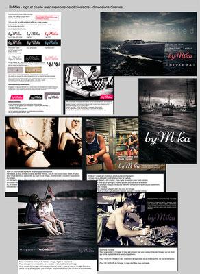 <h4>ByMika</h4><p>Logo et charte graphique pour photographe</p>