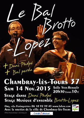<h4>Brotto Lopez à Chambray</h4><p>Affiche de spectacle</p>