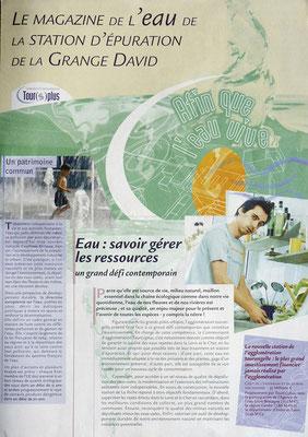 <h4>Tour(s)Plus</h4><p>Magazine nouvelle station d'épuration 2002</p>