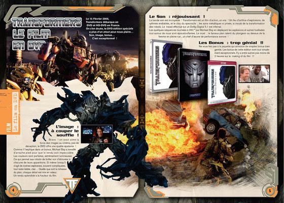 <h4>Transformers-2</h4><p>Réalisation complète d'un magazine sous licence</p>