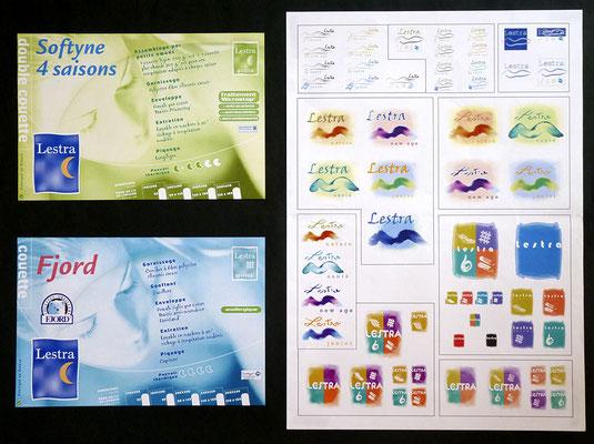 <h4>Lestra</h4><p>Recherche logo nouvelles gammes et etiquettes Distri specialisée Lestra</p>