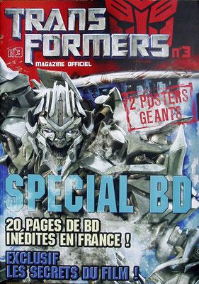 <h4>Transformers</h4><p>Réalisation complète d'un magazine sous licence</p>