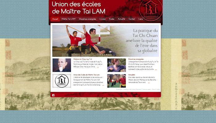 <h4>Site Tailam</h4><p>Site de fédération d'associations sportive - 2015</p>
