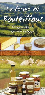 <h4>Bouteillous</h4><p>Plaquette ferme écologique</p>