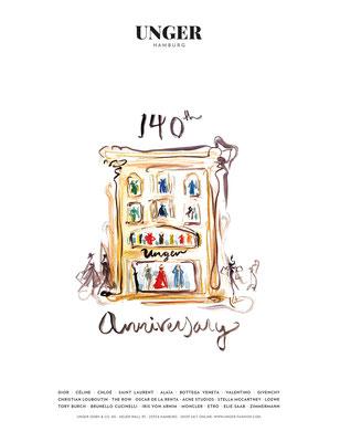 UNGER 140 jähriges Jubiläum