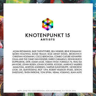 Knotenpunkt Festival Affenfaust Galerie Hamburg