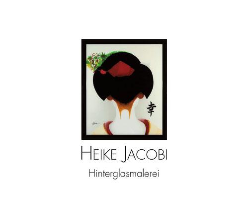 Heike Jacobi Hinterglasmalerei Vernissage