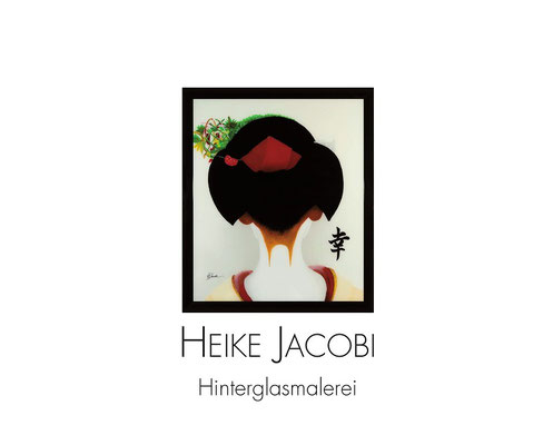 Heike Jacobi Hinterglasmalerei Vernissage