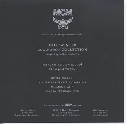 Store Opening MCM Michael Michalsky Berlin