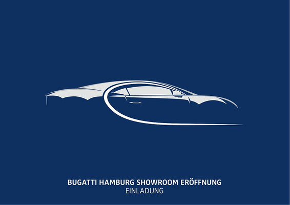 Bugatti Hamburg Showroom Opening