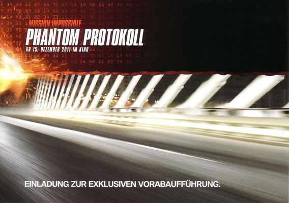 "BMW Kino Hamburg ""Mission Impossible"" Cinemaxx"