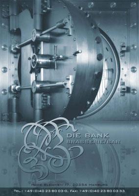 DIE BANK Brasserie & Bar Restaurant Hamburg
