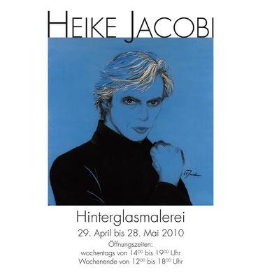 Heike Jacobi Hinterglasmalerei Vernissage Poster Malakhov
