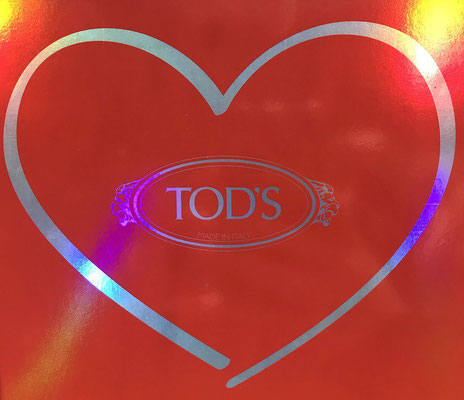 TOD'S Store Hamburg Valentins Day Cocktail