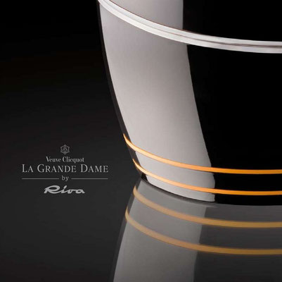 Veuve Cliquot Champagner La Grande Dame by Riva