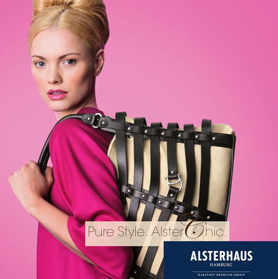 Fashion show Alsterhaus