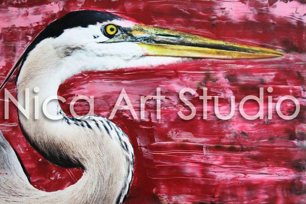Great blue heron, 2014, 3 : 2 format