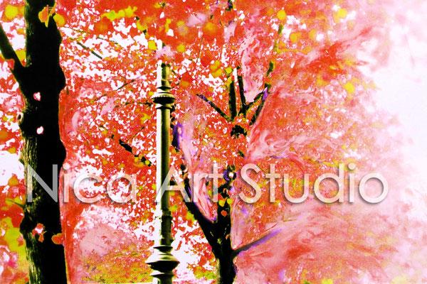 Orange alley, 2015, 3 : 2 format, print