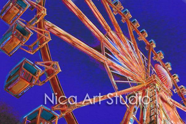 Ferris wheel, 2015, format 2 : 1
