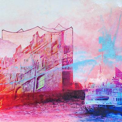 Großer Hafenklang, 2018, 1 : 1 Format, Druck