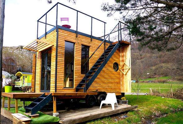 Tiny house by Jardin Boheme