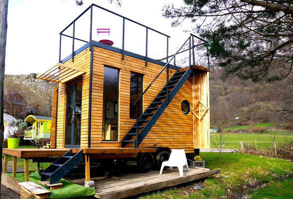 Tiny house by Jardin Boheme