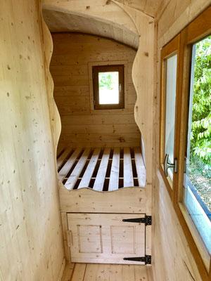 Roulotte chambre  by jardin boheme