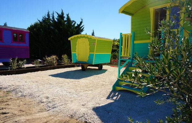 Roulotte chambre d'hotes & Tiny roulotte® - Jardin Boheme