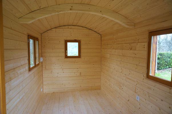 Roulotte Habitation / Studio de jardin - Jardin Boheme