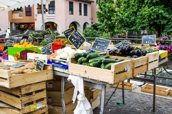 Markt in Annecy