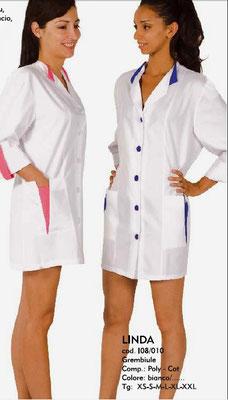 LINDA camice donna colori a Tua scelta - tg xs/ xxl