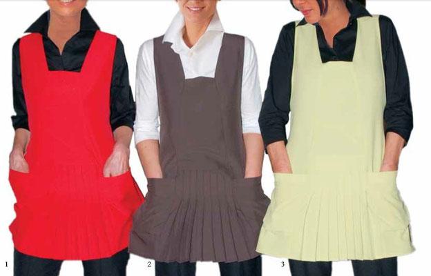 Ariell divise da lavoro art. PLISSE' copriabito - schiena coperta - taglia unica - colori rosso, castoro, kiwi, royal, bianco,nero