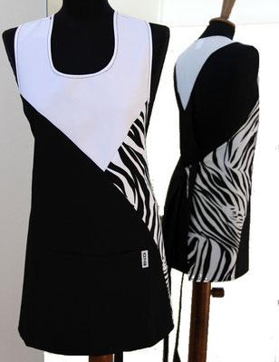 Ariell divise da lavoro FIORE copriabito schiena coperta - ANTIMACCHIA - taglia unica - si indossa dalla parte alta e si allaccia in vita ad incrocio - colori a scelta anche tinta unita
