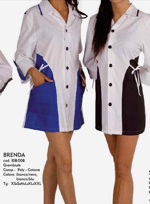 BRENDA casacca donna colori a scelta - tg xs/xxl anche su misura