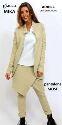 Ariell divise da lavoro GIACCA MIKA e PANTALONE MOSE'  ANTIMACCHIA Made in Italy anche su misura