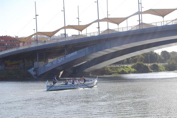 Hacia el Puente de Chapina