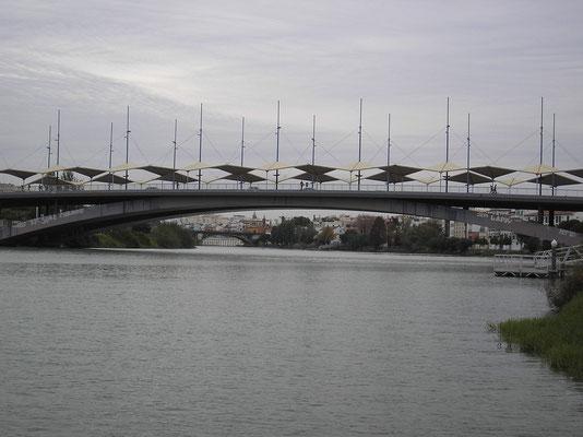 El Puente de Chapina desde el pantalán