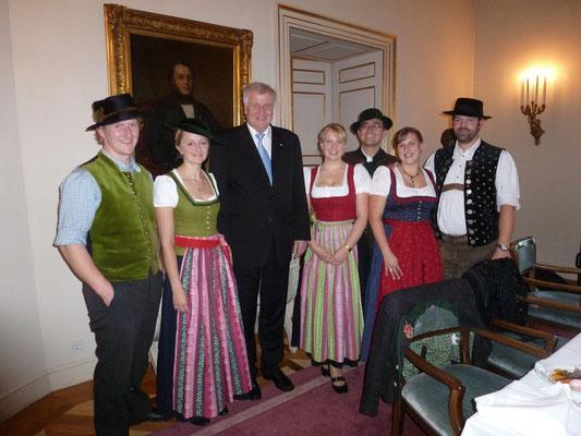 Empfang des Bayerischen Ministerpräsidenten zum 80. Geburtstag von Charlotte Knobloch 2012