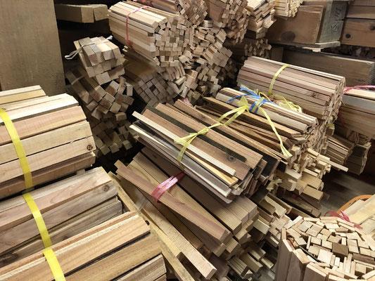 舟山森林はDIY用に木材の加工販売も行っています。